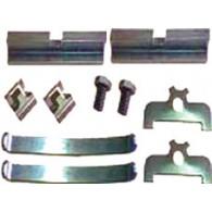 Kit Reparo Freio a Disco 02 Rodas Dianteiro (trilho sob medida) - F-100/F-1000 79/..../F-2000 80/85