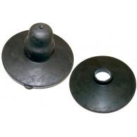 Kit Reparo Calço de Mola Suspensão Traseiro Inferior/Superior 01 lado - Kadett 89/90