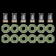 Kit para Bico Injetor Sistema - Multi Point Omega 3.0 / 4.1 6cc