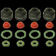 Kit para Bico Injetor Fiesta Nacional Courier Motor Zetec 1.4 16v - Multi Point
