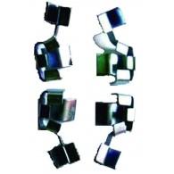 Kit Conjunto de Molas Anti-Ruido 02 Rodas - Blazer 4x4/S-10 4x4
